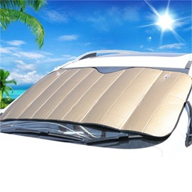 Foldable Windshield Sun Shade