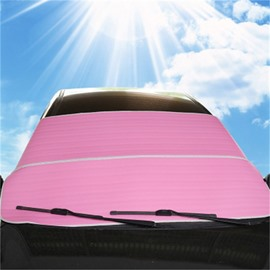 Universal Hassle-Free Car Sunshades Keep Your Vehicle Cool