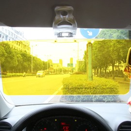 Car Sun Visor 2 in 1 Anti-Glare Visor