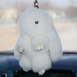 Cute And Lovely Wool Rabbit Creative Car Decor