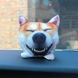 Creative Plush Soft Cute Animal Car Decoration