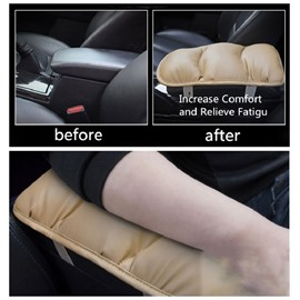Leather anti-skid Car Armrest Cushion