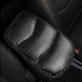 PU Leather Anti-skid Simple Style Car Armrest Cushion