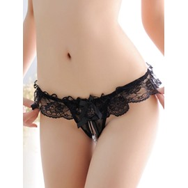 Attractive Lace Decorate Super Sexy Comfortable Thong G-String Underwear