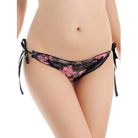 Lace See-Through Floral Super Sexy Attractive Briefs Underwear