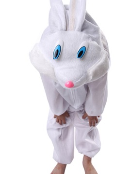 Hot Selling Fancy Cute White Rabbit Costume