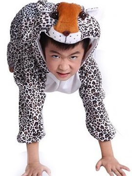 New Style Fancy Cool Leopard Design Costume