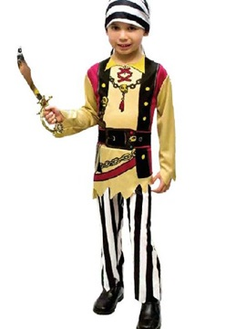 High Quality Unique Fashion Kids Pirate Design Costume