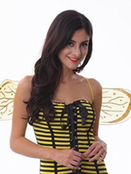 Faddish Transparent Wings Design Little Bee Costume
