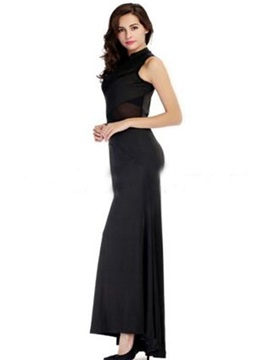 Elegant Black Long Skirt With Good Flexibility Hot Cosplay Costumes