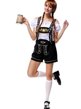 Bright And Fashion Beer Beautiful Girl Modeling Cosplay Costumes