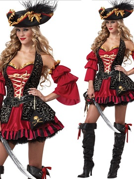 Sumptuous and Sexy European Style Pirate Costume