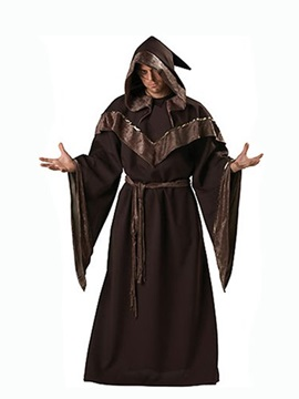 Hot Selling Mysterious Sorcerer Design Halloween Costume