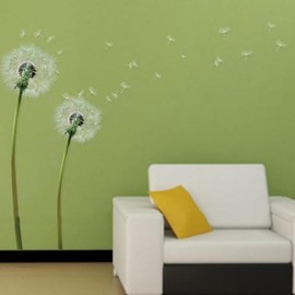 Cute and Lovely Dandelion Pattern Wall Stickers