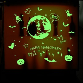 Luminous Durable Waterproof Ghosts PVC Halloween Kids Room Wall Stickers