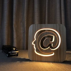 Natural Wooden Creative @ Pattern Design Light for Kids