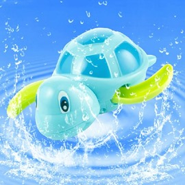 Cool Swimming Little Turtle Baby Bath Toys