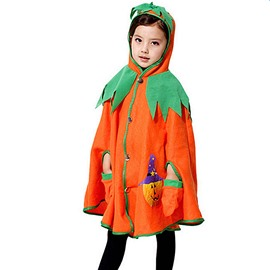 Lovely Halloween Style Pumpkin Pattern Children Costume