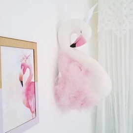 Fancy Home Decor 3D Swan Queen Design Wall Decor