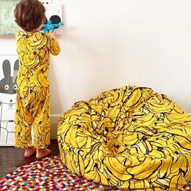 Great Gift Lovely Banana Pattern Bean Bag Chair