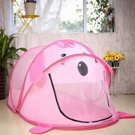Lovely Cartoon Design Kids Indoor or Outdoor Camping Tent