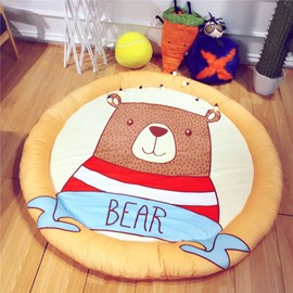 Eco-Friendly Cotton Padded Baby Play Floor Mat Sitting Cushion