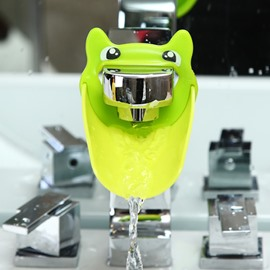 Frog Shape Classic Style TPE Faucet Extender
