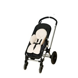 Pure Color Cotton and Plush Baby Stroller Cushion