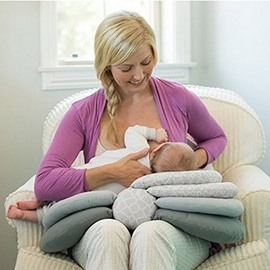 Adjustable Portable 1-Piece Baby Feeding Pillow/Cushion