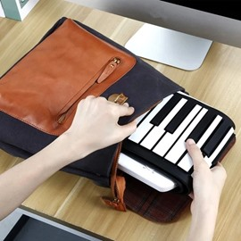 Portable 49 Keys Flexible Roll Up Electronic Soft Keyboard Piano