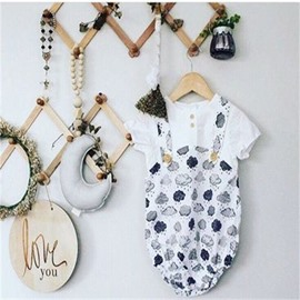 Nordic Style Moon Shaped Beads Kids/Baby Room Wall Decor