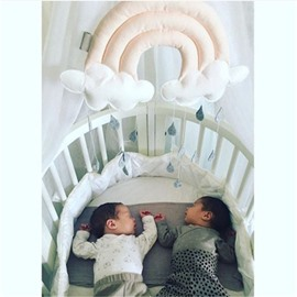 Nordic Style Raining Cloud Shaped Kids/Baby Room Wall Decor