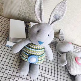 Educational Toys Music and Light Belly Funny Rabbit Child Gifts