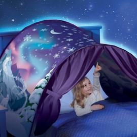 Great Gifts for Kids Pop Up Bed Tent Galaxy Starry Sky Dream