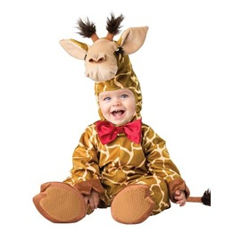Giraffe Shaped Tails Decoration Polyester Brown Baby Costume