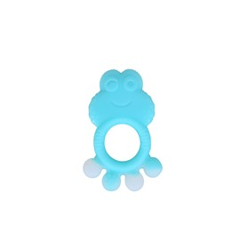Silicone Cute Frog Shaped Soothing Baby Teething Toy