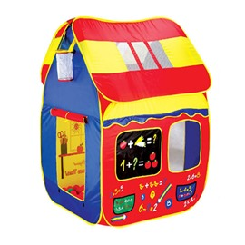 House Shaped Creative Style Polyester Kids Indoor Game Tent