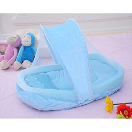 Cotton-padded Baby Mosquito Net Bed Net Mattress Pillow Tent Foldable Portable