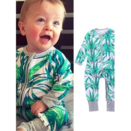 Cotton Material Long Sleeve 3 Pattern For Choice Infant Jumpsuit/Baby Bodysuit
