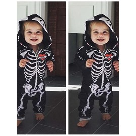 Creative Skull Pattern Cotton Material Baby Jumpsuit/Baby Bodysuit