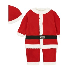 Newborn Toddler Baby Boys Christmas Thick Outfit Romper Bodysuit