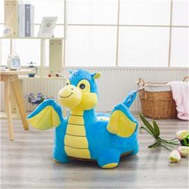 2 Color Cute Dragon Pattern Plush Kids Sofa /Cushion