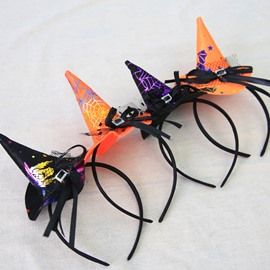 6 Pattern Special Halloween Decor Witch Cosplay Headband