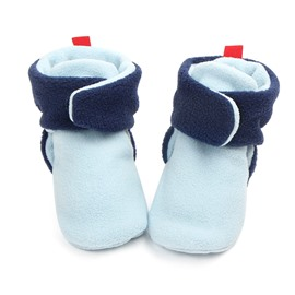 Infant Unisex Baby Warm Cotton Anti-Slip Soft Sole First Walkers Shoes