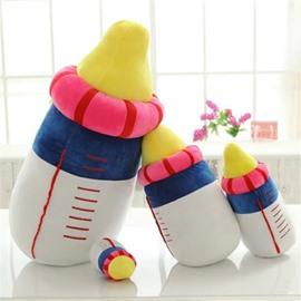 Creative Feeding-Bottle Shape Soft and Breathable Plush Baby Toy