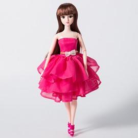 DIY Dressing Up Glitter Girls Lacy Doll 12in Fashion Doll