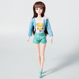 Creative Lacy 12in Doll Glitter Girls Dressing Up DIY Fashion Doll