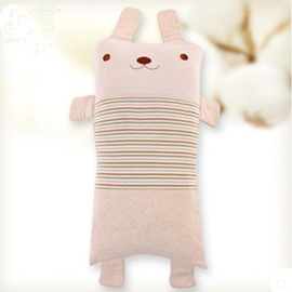 Rabbit Shape Antistatic Organic Cotton Baby Sleeping Pillows