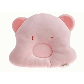 Adorable Comfortable Pink Bear Design Baby Pillow