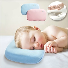 Natural Bamboo Charcoal Memory Foam Prevent Flat Head Baby Pillow